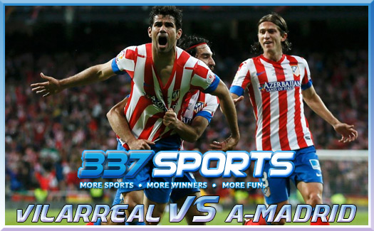 PREDIKSI SKOR BOLA VILLARREAL VS ATLETICO MADRID 11 NOVEMBER 2013