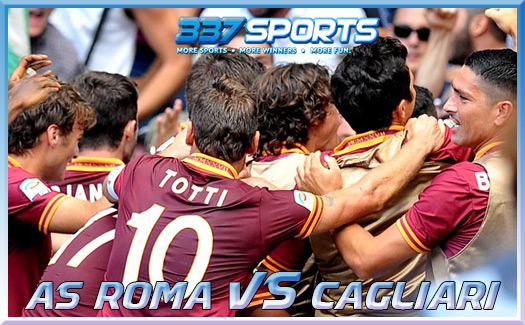 Prediksi Skor Bola AS Roma vs Cagliari 26 November 2013