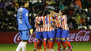 Atletico Madrid vs Real Valladolid,