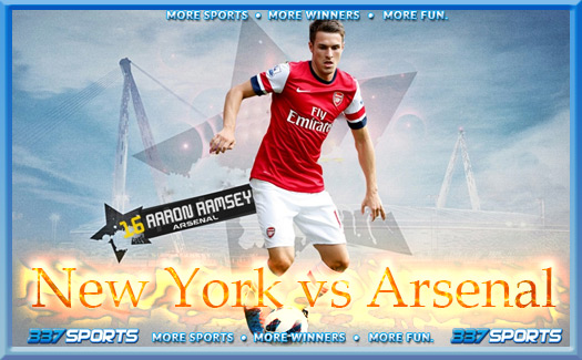 New York Rb vs Arsenal