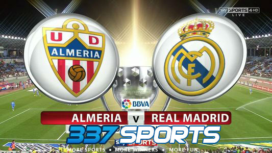 Almeria VS Real Madrid3337
